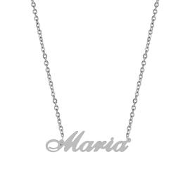 Pandantiv cu lant personalizat Maria -