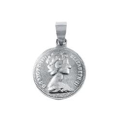 Pandant argint lucky penny