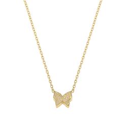 Lant aur 14k butterfly