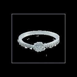 Inel aur 18K cu diamante 0.15 G VSSI