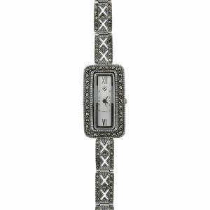 Ceas argint marcasite  - 647316