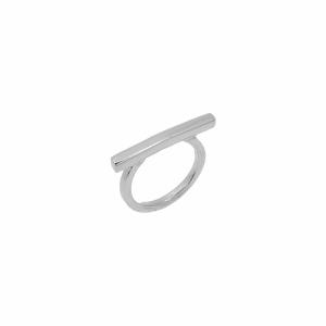 Inel argint geometric - 647583