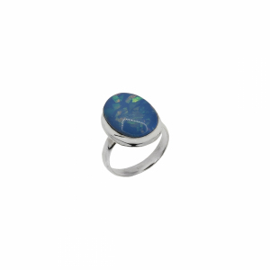 Inel argint opal vintage - 648498