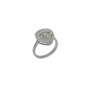 Inel argint pietre zirconiu - 643516