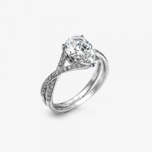 Cercei argint pietre zirconiu - 629008