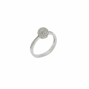 Inel argint pietre zirconiu - 629251