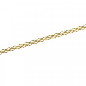 Bratara aur 14K Kocak galben  barbatesc