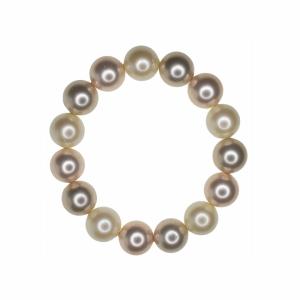 Set colier si bratara perle naturale din scoica mix