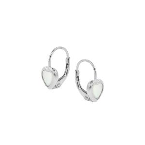 Cercei argint hearts