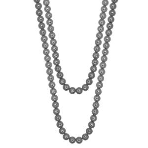 Set elegant perle naturale din scoica