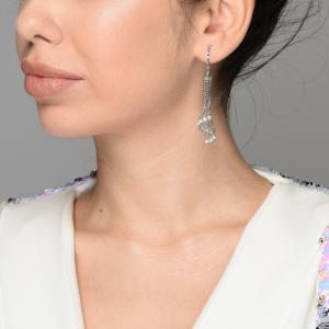 Cercei argint chandelier - 572823*