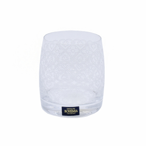 Set pahare whisky 290ml crystalite bohemia ideal 25015/375570/290
