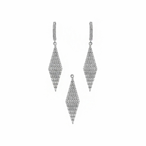 Set argint zirconiu - 560844*