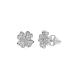 Cercei argint zirconiu luckies