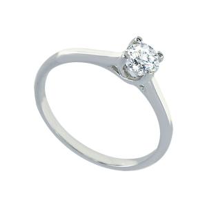 Inel argint zirconiu logodna