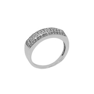 Inel argint zirconiu