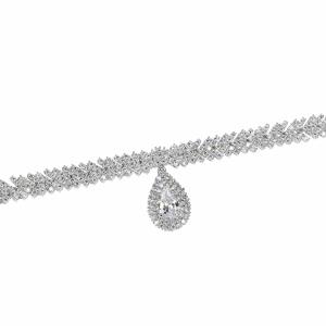 Bratara argint zirconiu - 565863x*