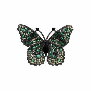Inel argint zirconiu fluture - 575671*