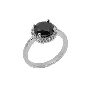 Inel argint eora -  Argint Zirconiu 20 Negru
