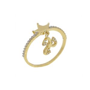 Inel aur 14K royal