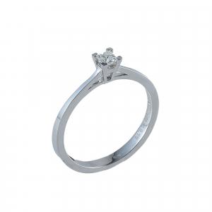 Inel aur 18K cu diamante 0.16 G SI