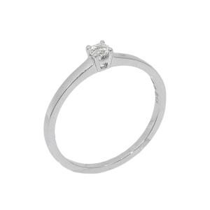 Inel aur 18K cu diamante 0.13 G SI