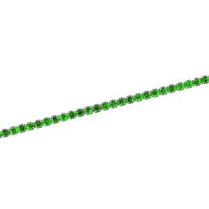 Bratara argint zirconiu tenis -  Argint Zirconiu Verde