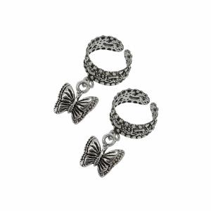 Cercei argint fluture - 584994*