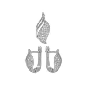 Set argint zirconiu viera