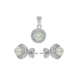 Set argint perla