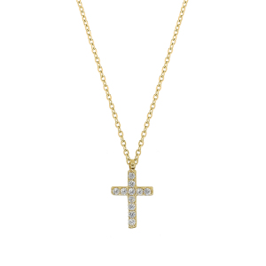 Lant aur 14K cross