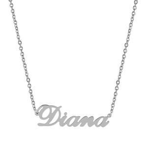 Pandantiv cu lant personalizat Diana -