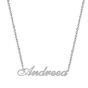 Pandantiv cu lant personalizat Andreea -
