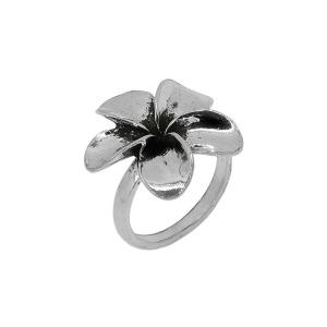 Inel argint vintage fleur