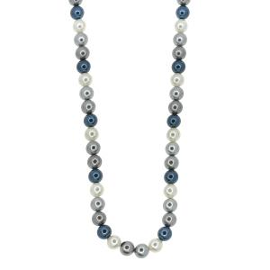 Set perle naturale din scoica colorat 8mm  -  Perle naturale 8 mm