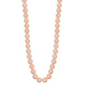 Set perle naturale din scoica colorat 8mm