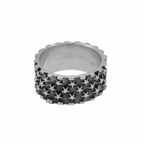 Inel argint vintage stele - 598311*