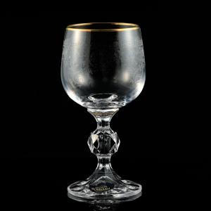 Set 6 pahare vin 150ml crystalite bohemia klaudie