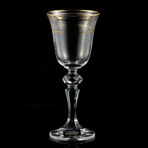 Set 6 pahare vin 170ml crystalite bohemia rose