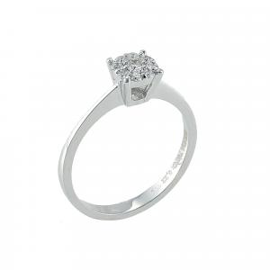 Inel aur 18K cu diamante 0.22 G VS