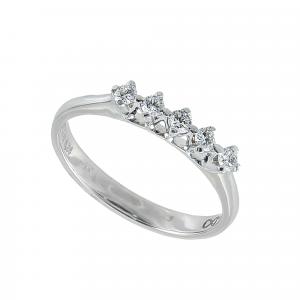 Inel aur 18K cu diamante 0.24 F-G