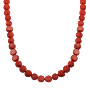 Set coral natural rosu