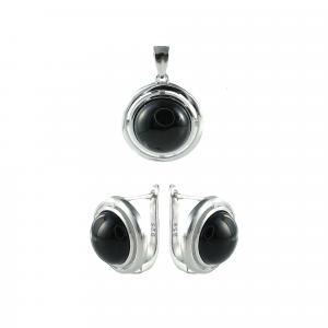 Set argint onix