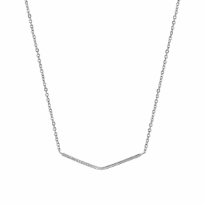 Lant argint cu pandantiv geometric - 604463