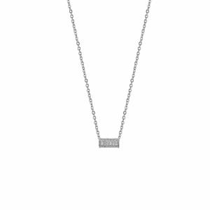 Lant argint cu pandantiv geometric - 605309