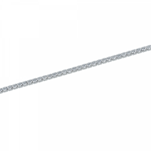 Bratara argint zirconiu tenis blanc -