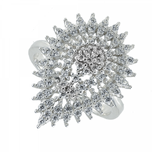Inel argint zirconiu oreva -  Argint Zirconiu