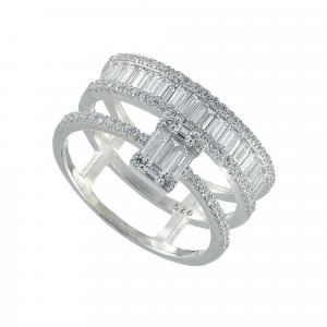 Inel argint zirconiu zephyr -  Argint Zirconiu