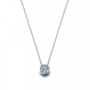 Lant argint zirconiu clasic