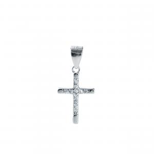 Pandant argint cross